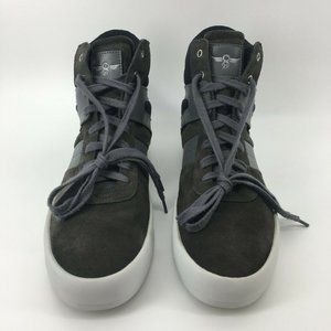 Creative Recreation Mens Black Suede High Top 11.5